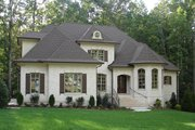 European Style House Plan - 5 Beds 4.5 Baths 3618 Sq/Ft Plan #927-27 Exterior - Front Elevation