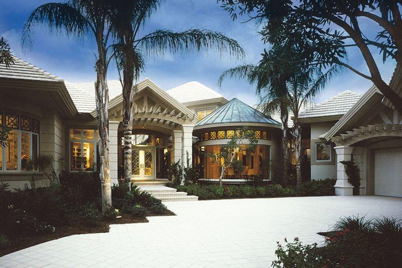 House Plan Design - Mediterranean Exterior - Front Elevation Plan #930-101