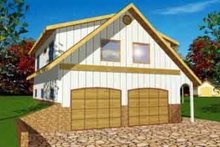 House Plan Design - Traditional Exterior - Front Elevation Plan #117-251