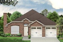 Dream House Plan - Traditional Exterior - Front Elevation Plan #84-545