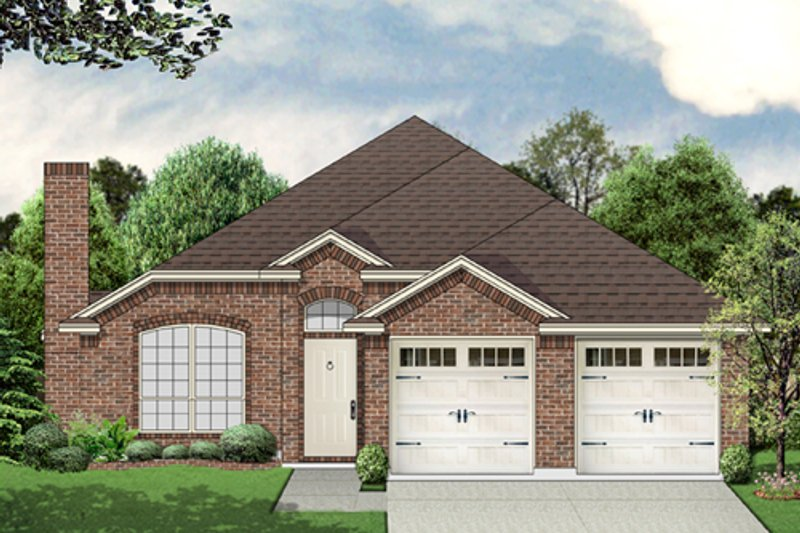 Home Plan Design - Traditional Exterior - Front Elevation Plan #84-545