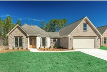 Dream House Plan - European Exterior - Front Elevation Plan #430-110