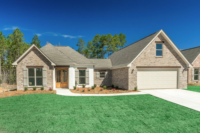 Dream House Plan - European Exterior - Front Elevation Plan #430-110