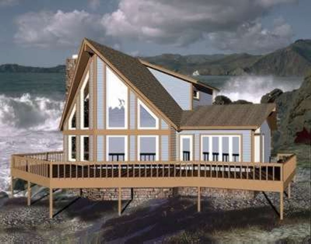 Contemporary Style House Plan 3 Beds 3 Baths 1828 Sq Ft