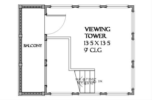 Beach Floor Plan - Other Floor Plan #901-113