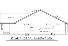 Dream House Plan - Cottage Exterior - Other Elevation Plan #20-2399