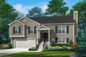 Traditional Exterior - Front Elevation Plan #22-628