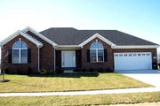 Traditional Style House Plan - 3 Beds 2 Baths 1450 Sq/Ft Plan #412-119