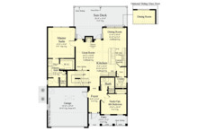 Country Floor Plan - Main Floor Plan Plan #930-495