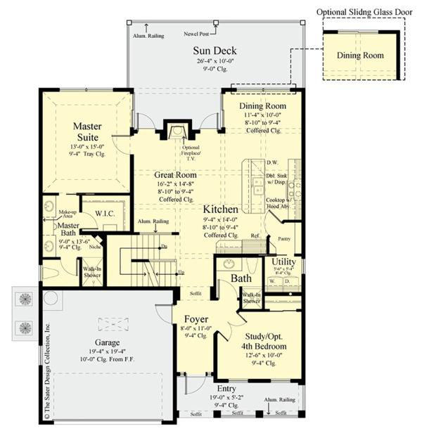Country Floor Plan - Main Floor Plan #930-495