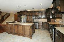 Cottage Interior - Kitchen Plan #23-2047