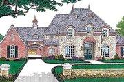 European Style House Plan - 4 Beds 4.5 Baths 3769 Sq/Ft Plan #310-554