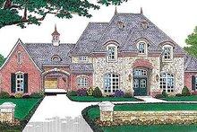 House Plan Design - European Exterior - Front Elevation Plan #310-554