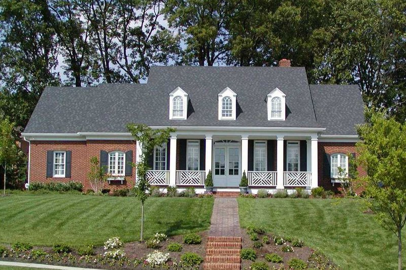 Southern Exterior - Other Elevation Plan #137-176 - Houseplans.com