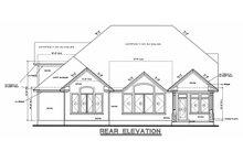 House Design - Craftsman Exterior - Other Elevation Plan #20-1056