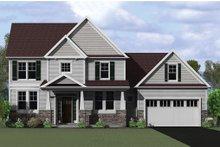 Architectural House Design - Craftsman Exterior - Front Elevation Plan #1010-117