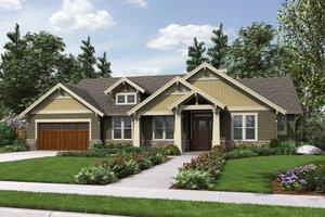 Craftsman Exterior - Front Elevation Plan #48-659