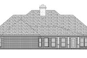 Traditional Style House Plan - 3 Beds 2 Baths 2240 Sq/Ft Plan #45-599 Exterior - Rear Elevation