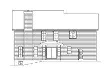 Traditional Exterior - Rear Elevation Plan #22-539