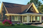 Craftsman Style House Plan - 4 Beds 3.5 Baths 3249 Sq/Ft Plan #51-1174