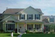 Country Style House Plan - 5 Beds 5.5 Baths 4294 Sq/Ft Plan #27-252 Exterior - Front Elevation