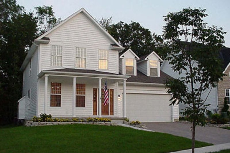 Country Exterior - Front Elevation Plan #48-434 - Houseplans.com