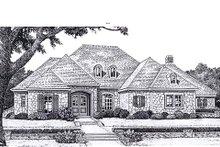 Dream House Plan - European Exterior - Front Elevation Plan #310-938
