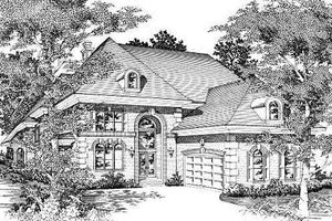 Exterior - Front Elevation Plan #329-316