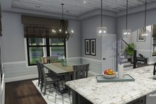 Farmhouse Interior - Dining Room Plan #120-261