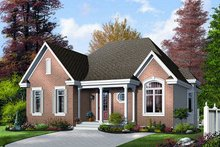 Dream House Plan - Exterior - Front Elevation Plan #23-690