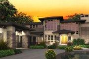 Modern Style House Plan - 4 Beds 4.5 Baths 4750 Sq/Ft Plan #132-221