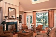 Architectural House Design - Great Room - 3100 square foot Southern home