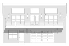 Architectural House Design - Modern Exterior - Front Elevation Plan #932-371