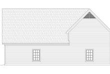 Home Plan - Country Exterior - Rear Elevation Plan #932-267