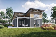 Contemporary Exterior - Other Elevation Plan #924-12