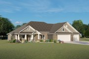Ranch Style House Plan - 3 Beds 2.5 Baths 2120 Sq/Ft Plan #1064-34