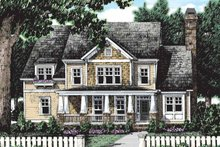 Craftsman Exterior - Front Elevation Plan #927-188