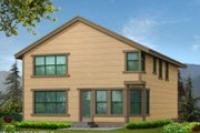 Craftsman Style House Plan - 3 Beds 2.5 Baths 2753 Sq/Ft Plan #132-124 Exterior - Rear Elevation
