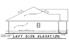 Dream House Plan - Traditional Exterior - Other Elevation Plan #20-1714