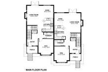 Victorian Floor Plan - Main Floor Plan Plan #126-152