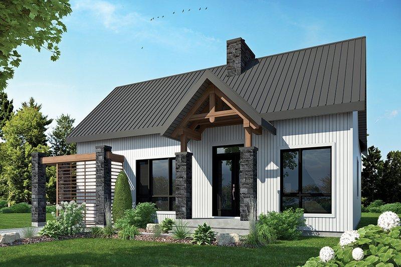 House Plan Design - Contemporary Exterior - Front Elevation Plan #23-2316