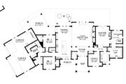 Craftsman Style House Plan - 3 Beds 2.5 Baths 3163 Sq/Ft Plan #48-688 Floor Plan - Main Floor