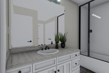 Traditional Interior - Master Bathroom Plan #1060-58