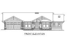 Craftsman Exterior - Front Elevation Plan #132-570