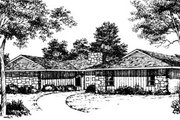 House Plan - 3 Beds 2.5 Baths 1871 Sq/Ft Plan #10-142 Exterior - Front Elevation
