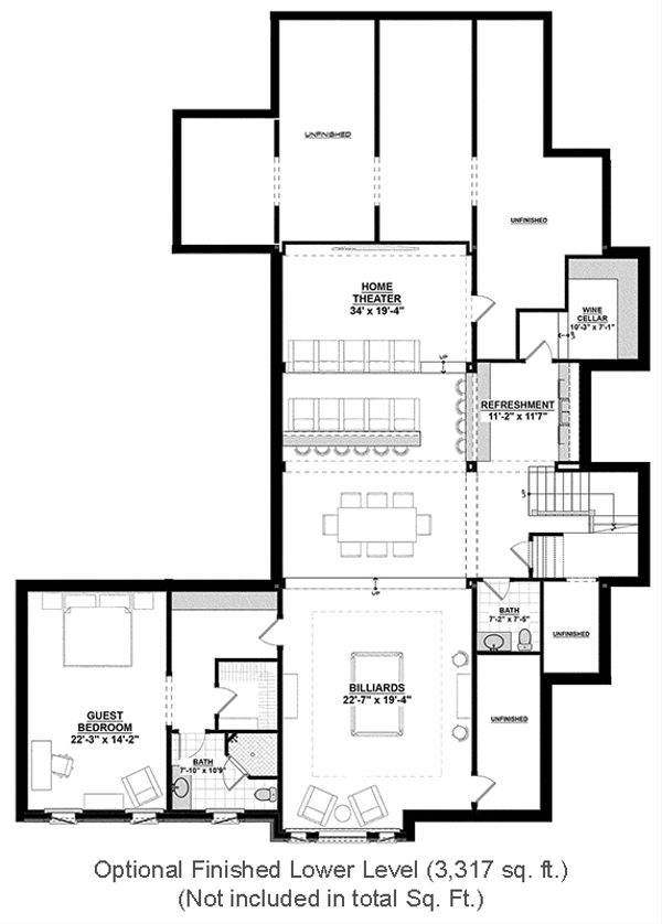 House Design - Optional Finished Basement