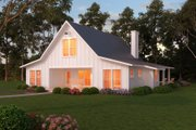 Farmhouse Style House Plan - 3 Beds 2.5 Baths 2720 Sq/Ft Plan #888-13 Exterior - Front Elevation