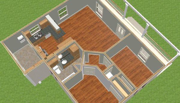 Country Floor Plan - Other Floor Plan #44-203