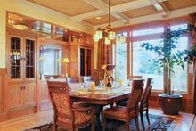 Architectural House Design - Craftsman Interior - Dining Room Plan #48-150