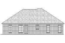 Home Plan - Ranch Exterior - Rear Elevation Plan #430-9